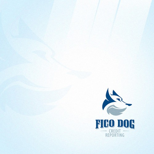 Chihuahua logo with the title 'Fico Dog Logo'