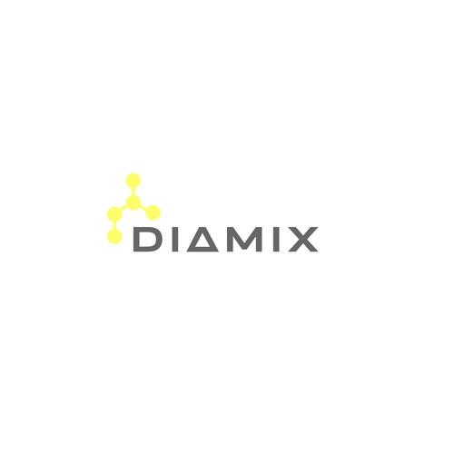 Chain logo with the title 'DIAMIX logo'