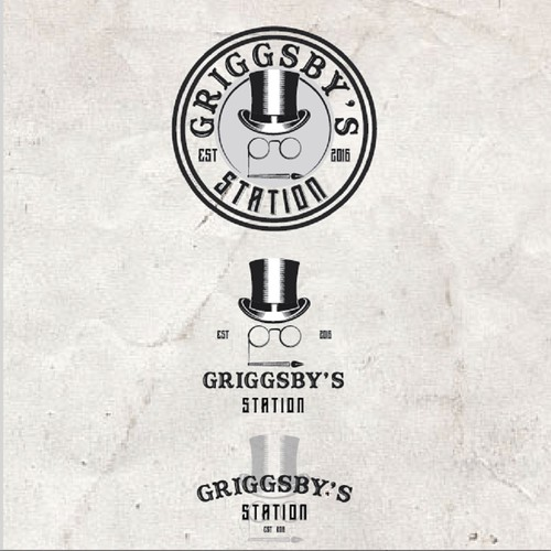 Station design with the title 'Griggsby's Station'