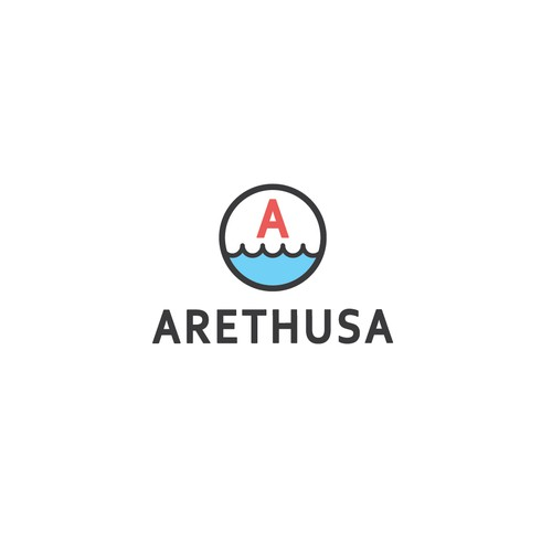 Rugged logo with the title 'Arethusa'