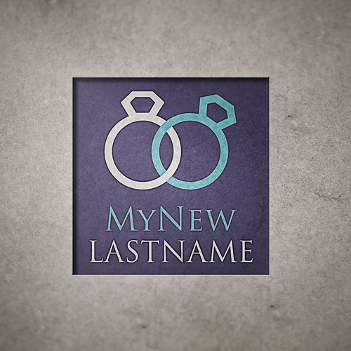 "Name card design with the title 'logo idea for a company called ""MyNewLastname""'"