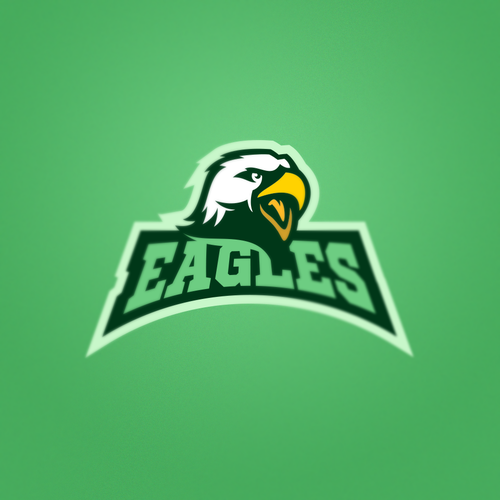Team logo with the title 'Eagles'