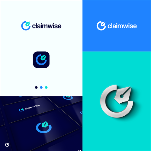 Business brand with the title 'C + W + pen'