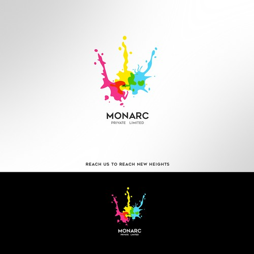 CMYK logo with the title 'Winning Entry_Monarc Private Limited'