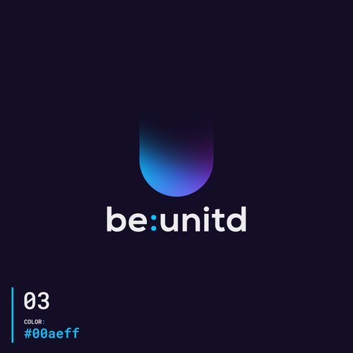 United design with the title 'be:unitd'