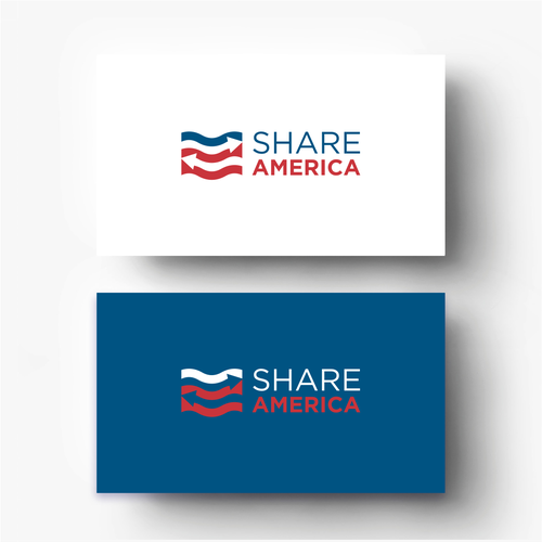American design with the title 'Share America Logo'