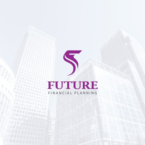 F design with the title 'logo for a new financial planning company'