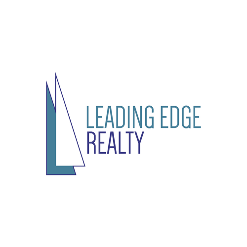 Overlapping logo with the title 'Leading Edge Realty'