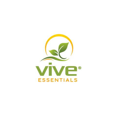 Supplement logo with the title 'High Quality Supplements Brands With Natural / Premium Feel and Modern Look - Vive Essentials'