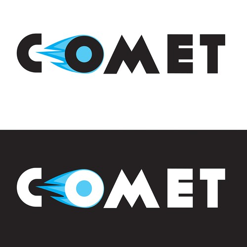 Fly brand with the title 'Bold Logo for comet'