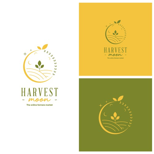 Farmer's market design with the title 'Logo for online farmers market'