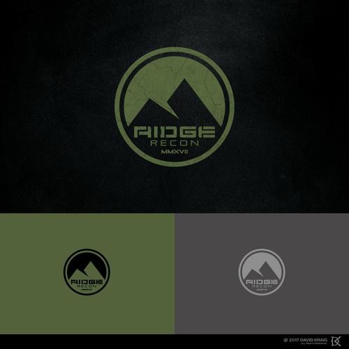Ridge logo with the title 'RIDGE RECON'