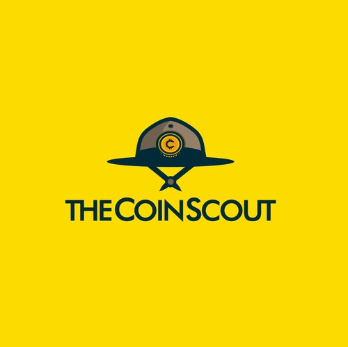 Currency design with the title 'The Coinscout Crypto Currency Portal is looking for a Logo with Recognition Factor'