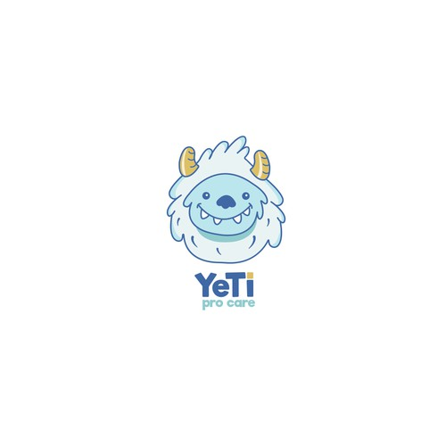 Kindergarten design with the title 'Yeti Logo'