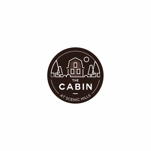 Tiny house logo with the title 'Minimalistic concept logo '