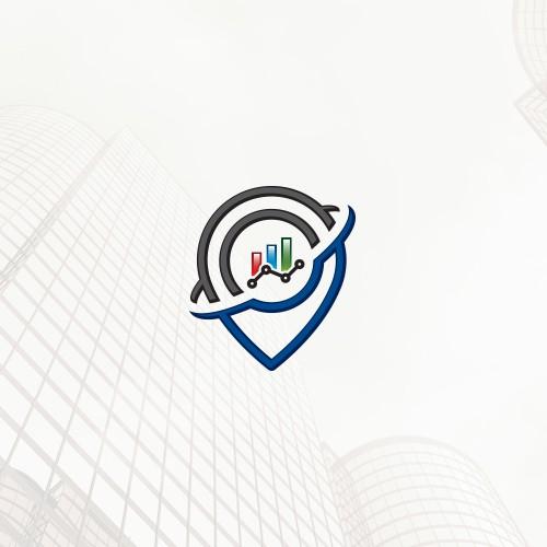 Diagram design with the title 'SEO company logo'
