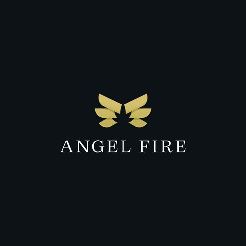 Angel design with the title 'Angle Fire'