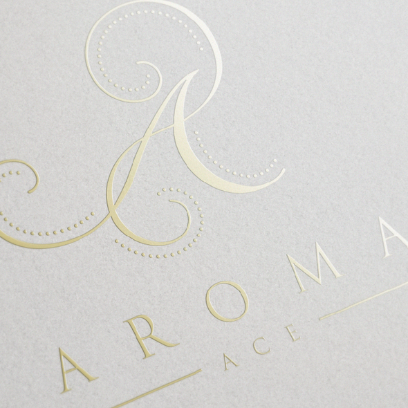 Aroma design with the title 'Aromatheraphy'