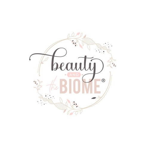 Health and beauty logo with the title 'Logo for an inside out system for healthy body composition, skin glow and inner health.'