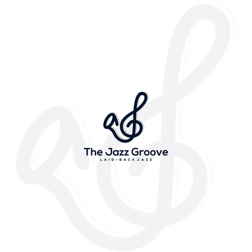 Jazz logo with the title 'Captivating, Bold & Artistic Logo Needed For Internet Radio Station: The Jazz Groove'