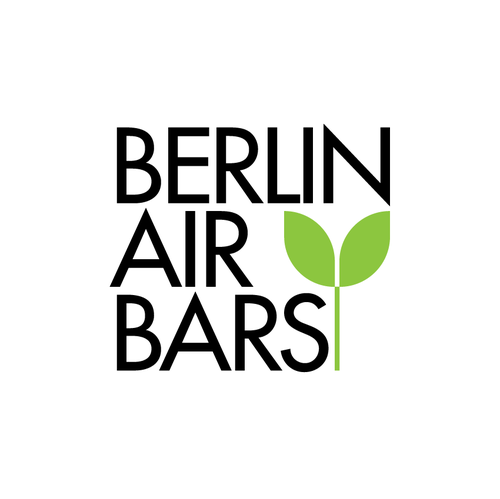 Air logo with the title 'Logo design for Berlinairbars'