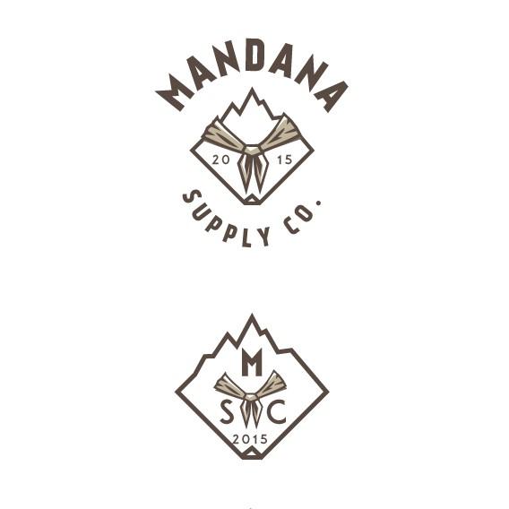 Bandana logo with the title 'Mandana Supply Co.'