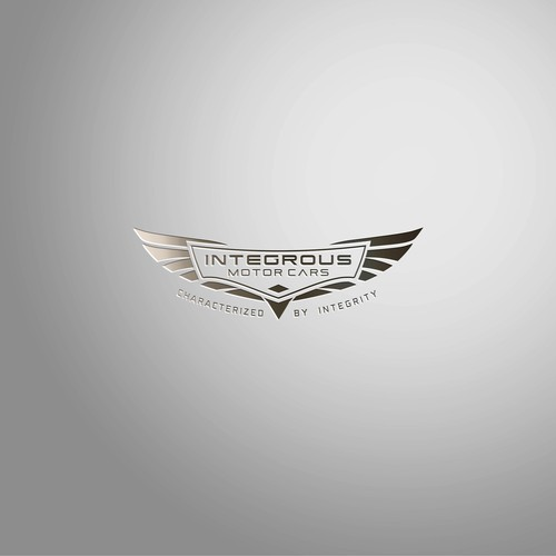 Vehicle design with the title 'Automotive Logo'