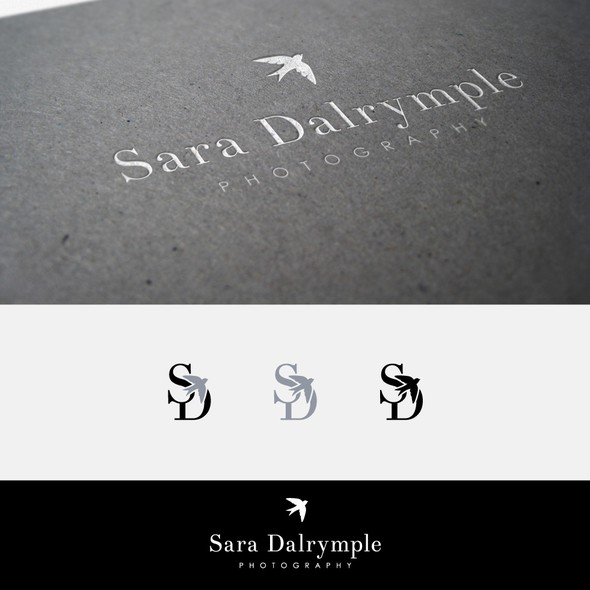 Bird design with the title 'Sara Dalrymple Photography'