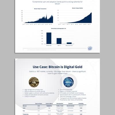 Clean corporate PowerPoint presentation