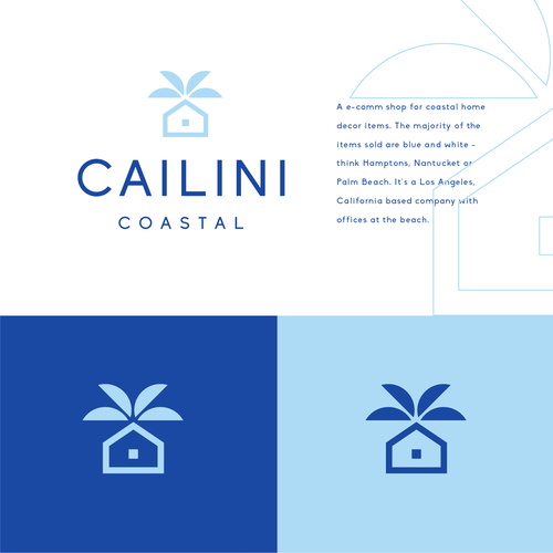 Home logo with the title 'Cailini'