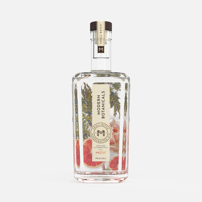 Logo & Packaging Design for Modern Botanicals Gin