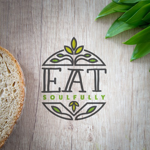 Crest design with the title 'Healthy Eating'