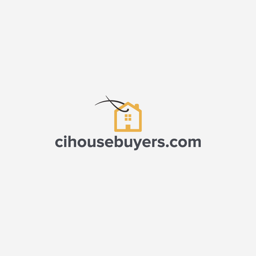 Tag logo with the title 'house buyers'