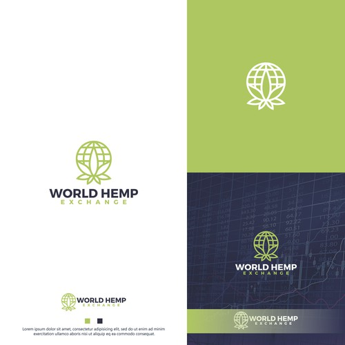 World logo with the title 'World Hemp'
