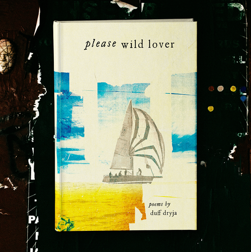 Photography design with the title 'Please Wild Lover'