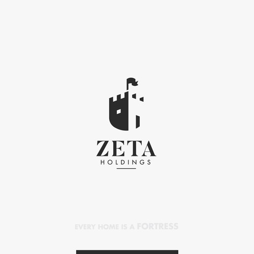 Finance brand with the title 'Zeta Holdings'