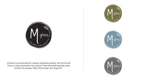 Oil design with the title 'Modern Body Care Product Logo, with an Attention Grabbing Twist'