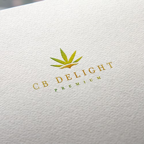 Premium brand with the title 'CB Delight logo'