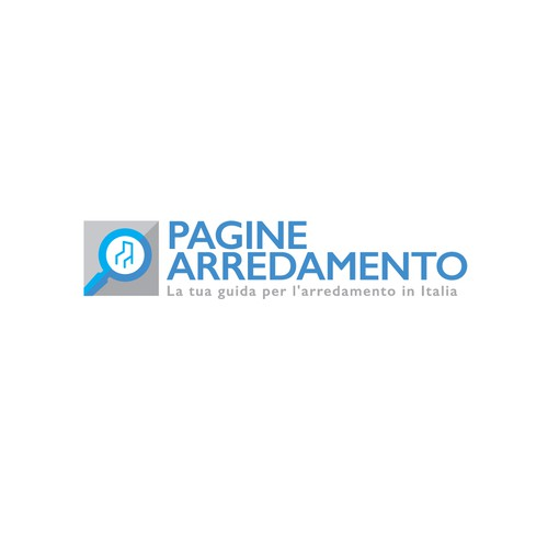 Directory logo with the title 'Pagine Arredamento'