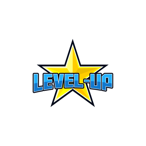 Ultimate logo with the title 'level-up'