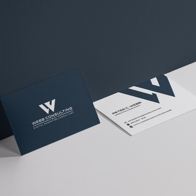 Business Card Design for Consultancy Business