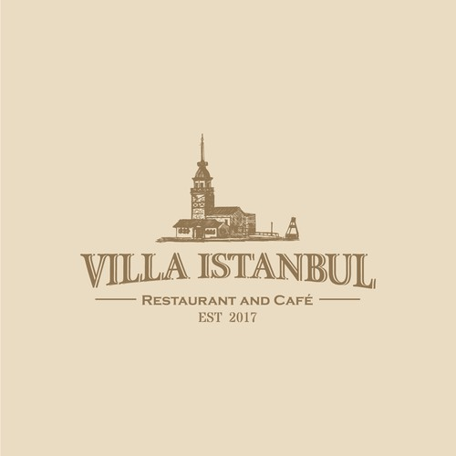 Turkey design with the title 'Villa Istanbul'