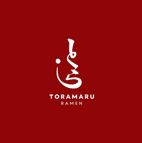 Japanese restaurant design with the title 'logo for a Japanese ramen restaurant'