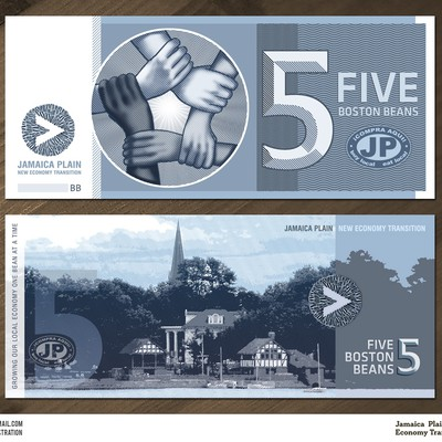 Design a Local Currency for Boston JP
