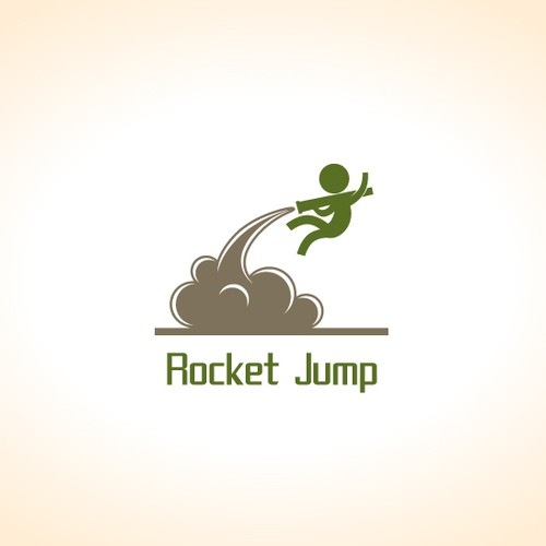 Jump logo with the title 'Rocket Jump'