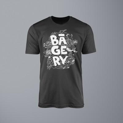 BAGERY T-shirt design