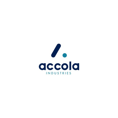 Manufacturing brand with the title 'Minimal Monogram Logo for Accola Industries'