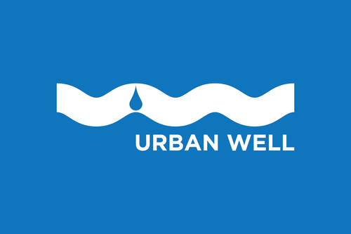 Hydro logo with the title 'Healing our world one drinking fountain at a time - Urban Well'