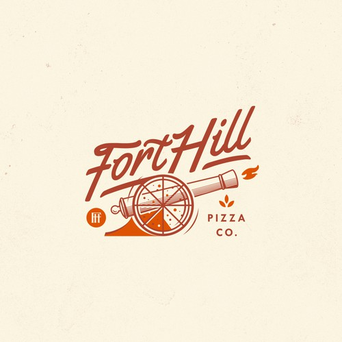 Heritage logo with the title 'FORTHILL PIZZA CO.'