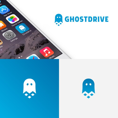 Ghost logo with the title 'Ghost Drive'